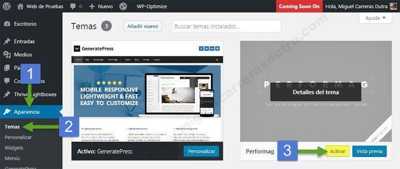 GeneratePress: Mega tutorial de esta plantilla para WordPress que ...