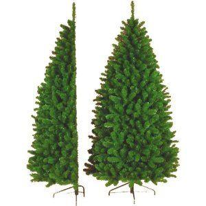 21m 7ft half tree artificial christmas tree amazoncouk - Artificial Christmas Trees Amazon