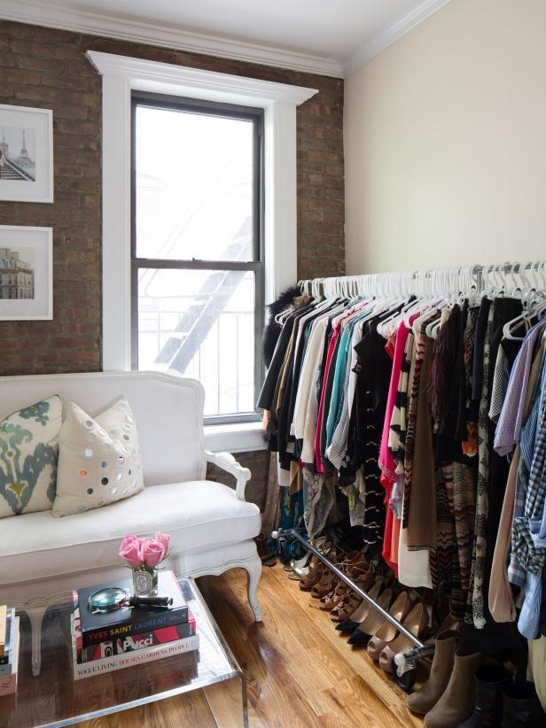 12 no closet clothes storage ideas storage no closet - Clothing storage ideas no closet ...