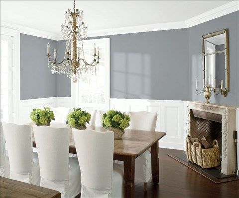 Saved Color Selections  Benjamin Moore Pewter And Walls Glamorous Dining Room Color Decorating Inspiration