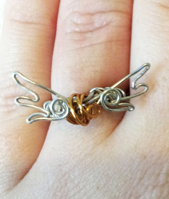 Golden Snitch Wire Ring - Harry Potter | Watches and Jewelry ...