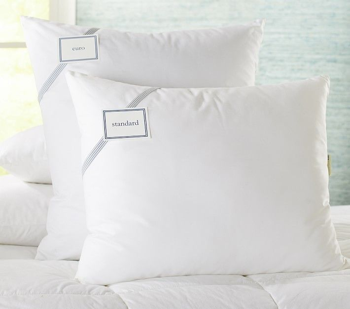 Pottery Barn Pillow Inserts Beauteous Luxury Loft Pillow Standard  Luxury Loft Alternative And Pillows Decorating Design