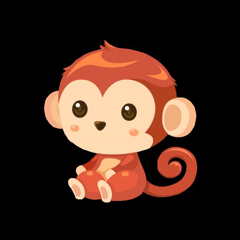 猿 さる サル のイラスト 猿 イラスト かわいい イラスト