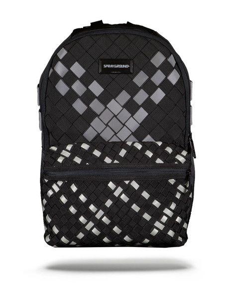 SPRAYGROUND Reflective Kumo Weave Backpack | Grey