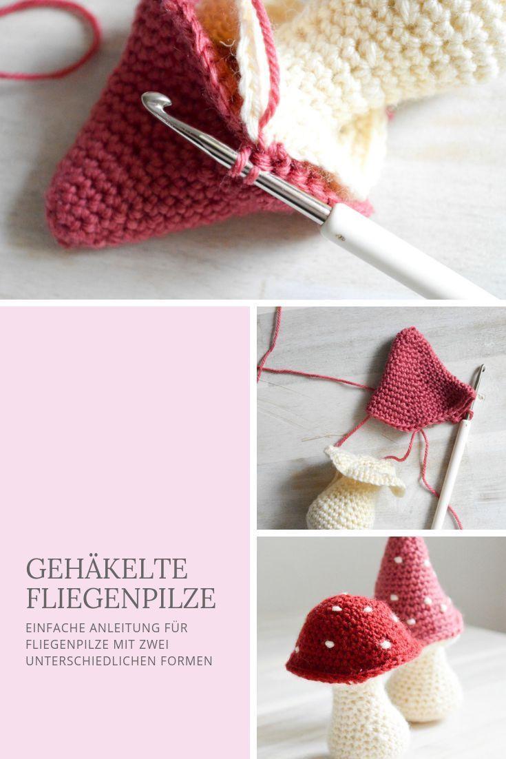 Photo of Glückspilze häkeln- Herbst DIY – Mein gehäkeltes Herz