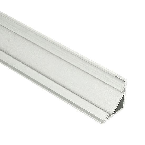 Corner Mount Aluminum Extrusion Profile Led Strip Fixture Channel Strip Light Housing Led Strip Lighting Strip Lighting Outdoor Led Strips