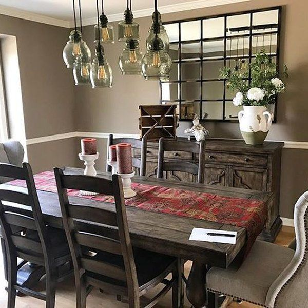 Eagan Large Multipanel Wall Mirror 44 X 55 Mirror Dining Room Pottery Barn Dining Room Dining Room Small Bronze decorations for dining room