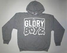 GLORY BOYZ WHITE GREY HOODIE SWEATSHIRT Chief Keef Sosa GBE 3Hunna Bang Bang a982fa57ecb5