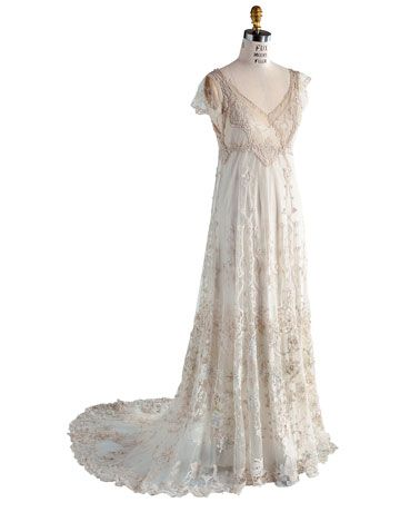 Edwardian Wedding Dress, Lace