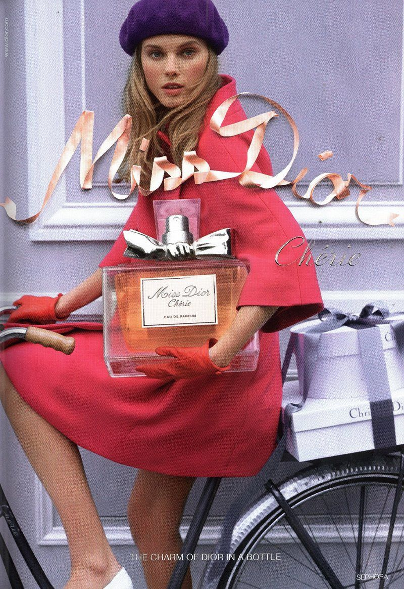 Miss Dior Cherie Fragrance 2009 Contract