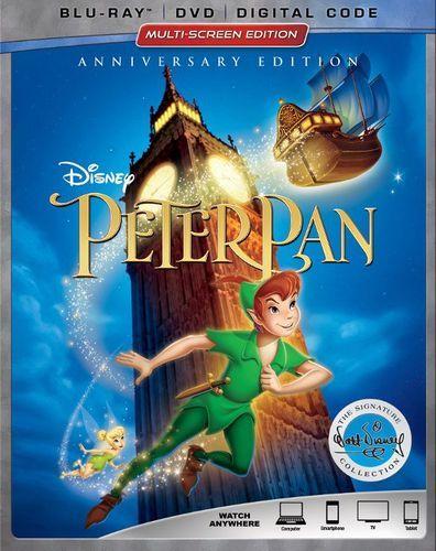 Peter Pan Signature Collection Blu Ray Dvd 1953 Disney Blu
