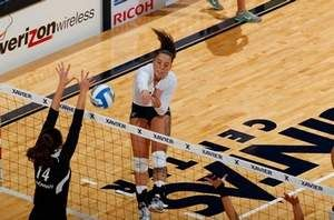 Xavier volleyball star White has overcome tragedy, adversity
