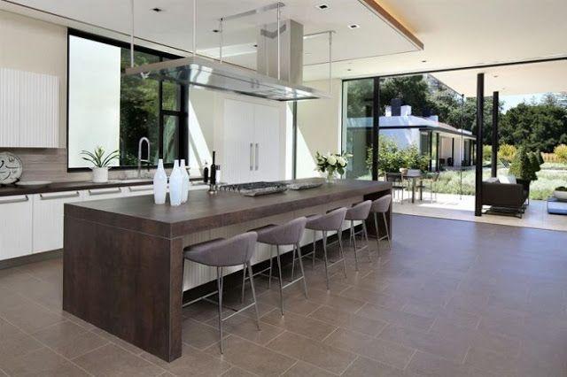 Casas Minimalistas y Modernas cocinas modernas Decoración de casa