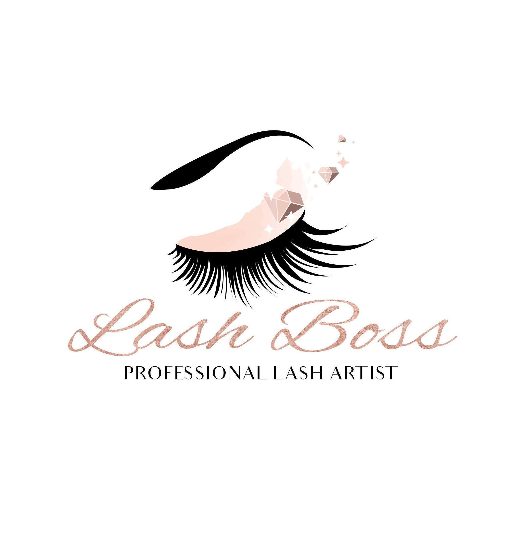 Beauty Logo, Logo Design, Makeup Logo, Lash Logo, Makeup