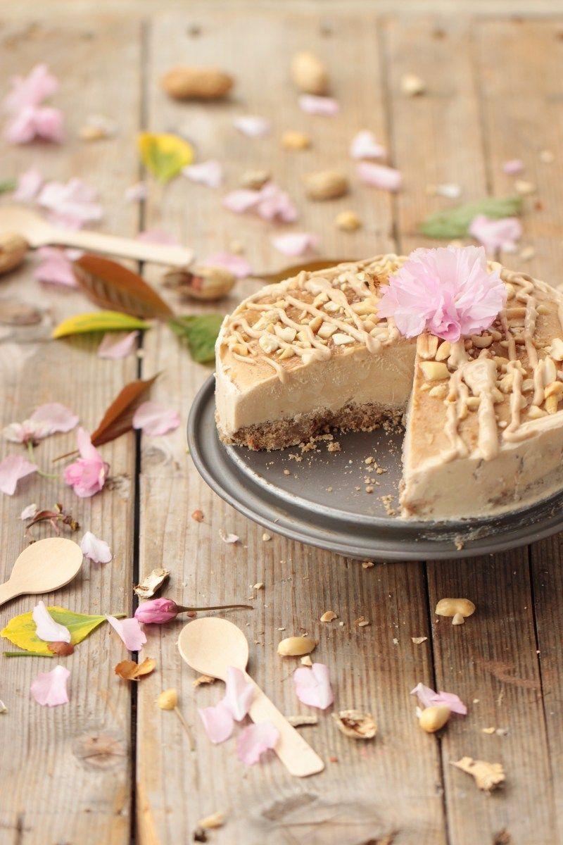 Cheesecake au beurre de cacahuète | Recette | Beurre de ...