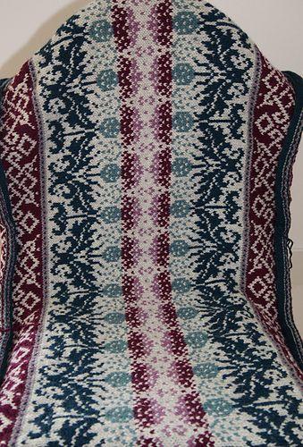 Tigerkatzi's Thistle | Fair isles, Knitted dishcloths and Knitting ...