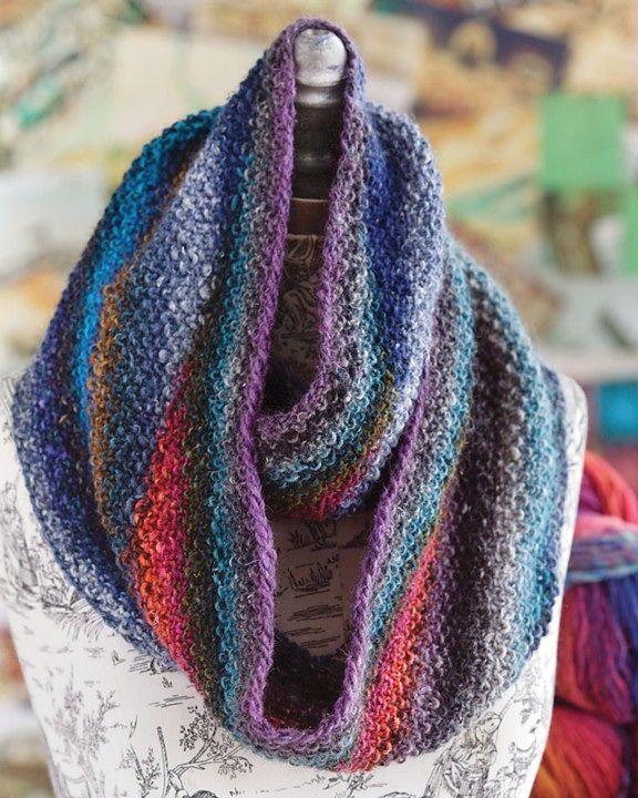 #08 Color-Shift Cowl pattern by Rachel Maurer | Infinity ...