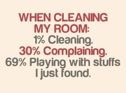 funny clean quotes and sayings | cleaning room When you ...