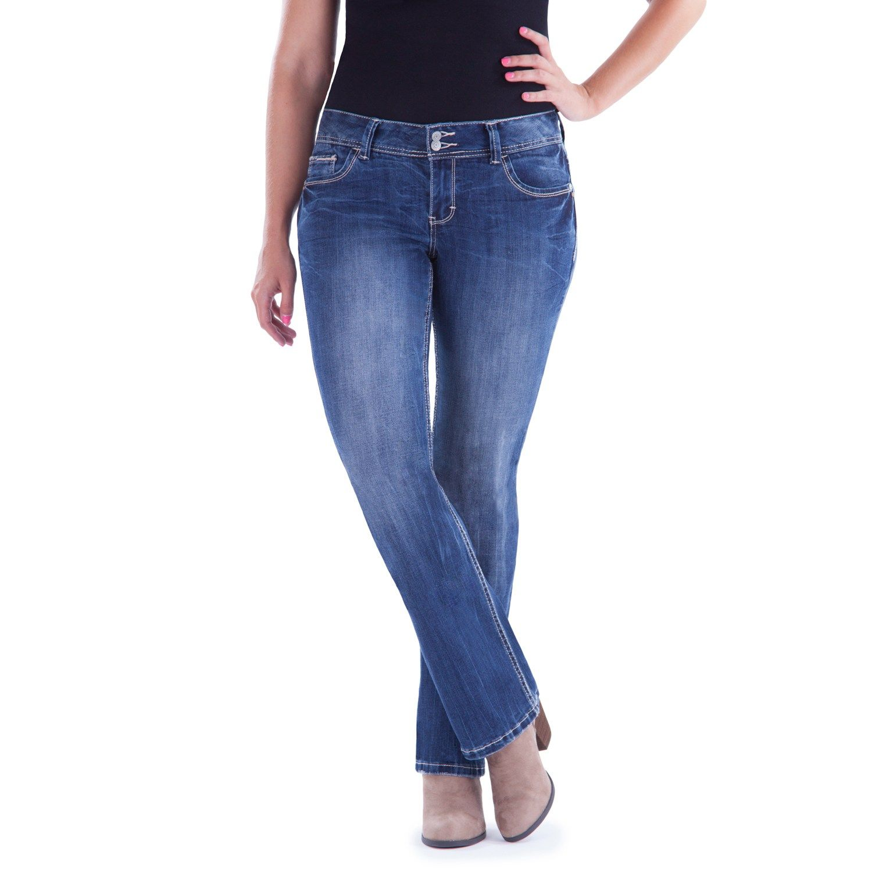 e279a5bf94 Juniors  Plus Size Amethyst Slim Bootcut Jeans  Amethyst