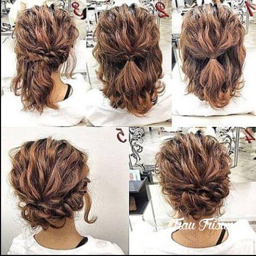 15 Grosse Hochsteckfrisuren Fur Kurze Haare Zu Jeder Gelegenheit Zu Versuchen Frisuren Frisur Hochgesteckt Hochsteckfrisuren Mittellanges Haar