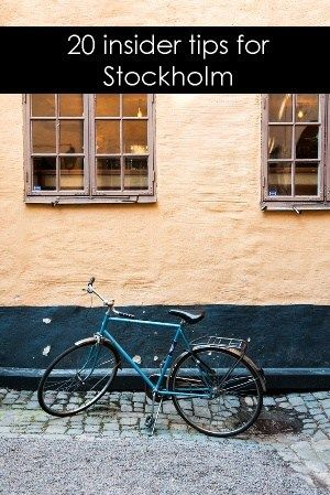 I've written about Stockholm for so many publications where I shared various insider tips for Stockholm and optimizing your time in the city.
