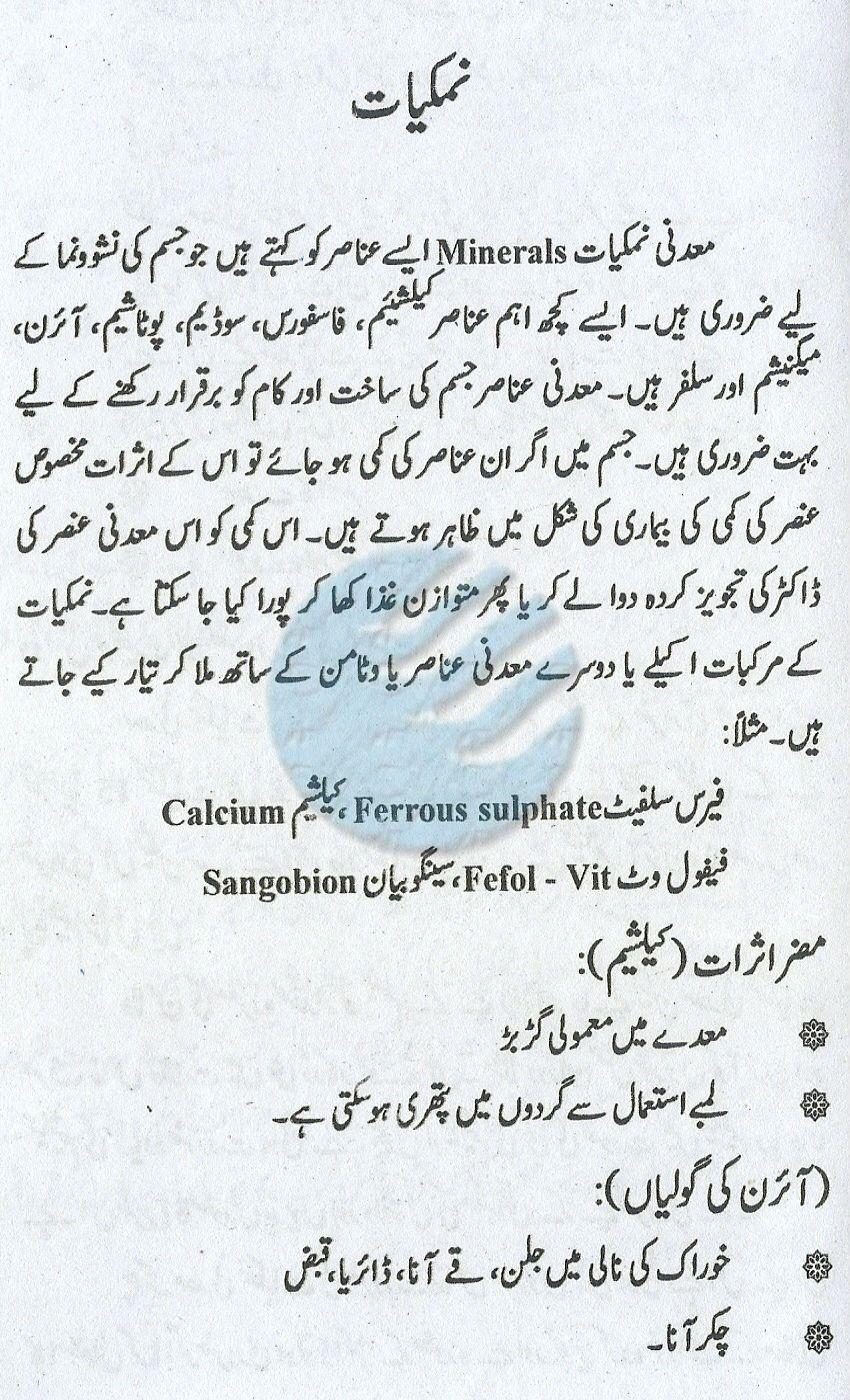 Where To Get Minerals In Urdu Health Care Pinterest Sangobion Capsul