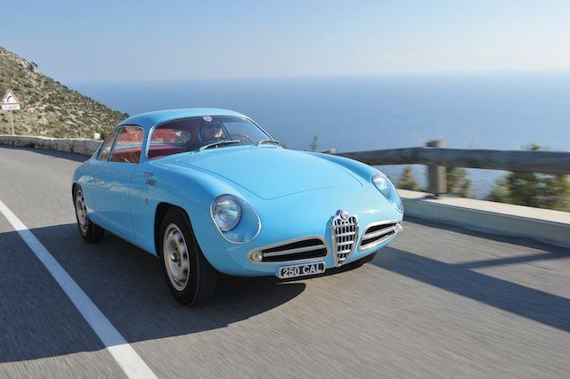 1958 Alfa Romeo Giulietta Veloce Zagato For Sale Front