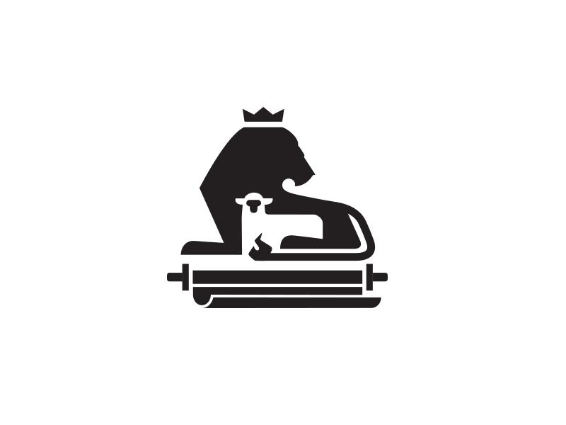 Lion Lamb Scroll Logotypes Logotipos Y Identidad De Marca Of ...
