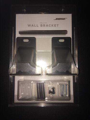 Speaker Mounts And Stands Bose Wall Bracket Kit For Soundtouch Wb 300 Soundbar 766489 0010 Buy It Now Only 39 59 On Speaker Mounts Wall Brackets Bracket