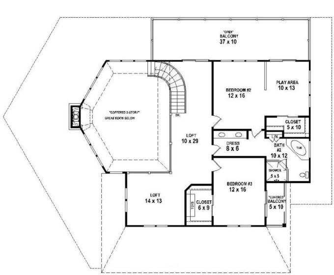 653767 - 3 bedroom 2.5 bath lakehouse with indoor and outdoor living ...
