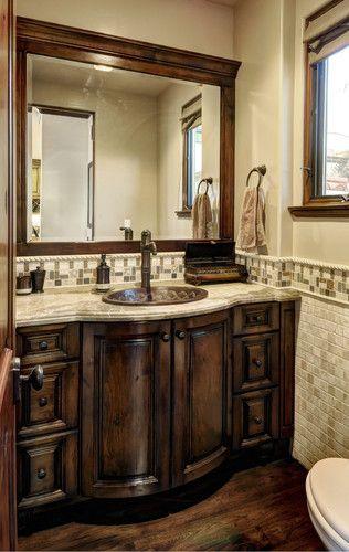 Mediterranean Home Bathroom Vanities, Tuscan Bathroom Vanity