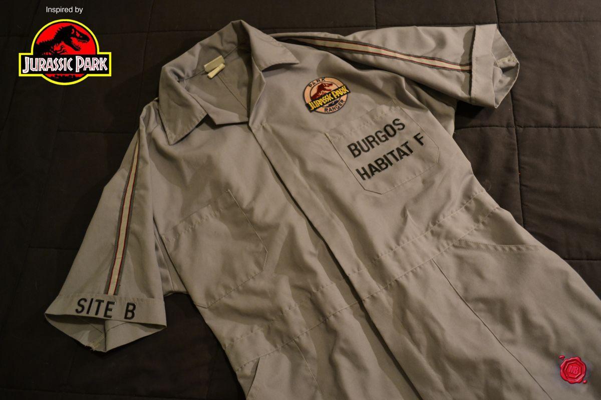 Jurassic Park employee coveralls Jurassic park, Jurassic