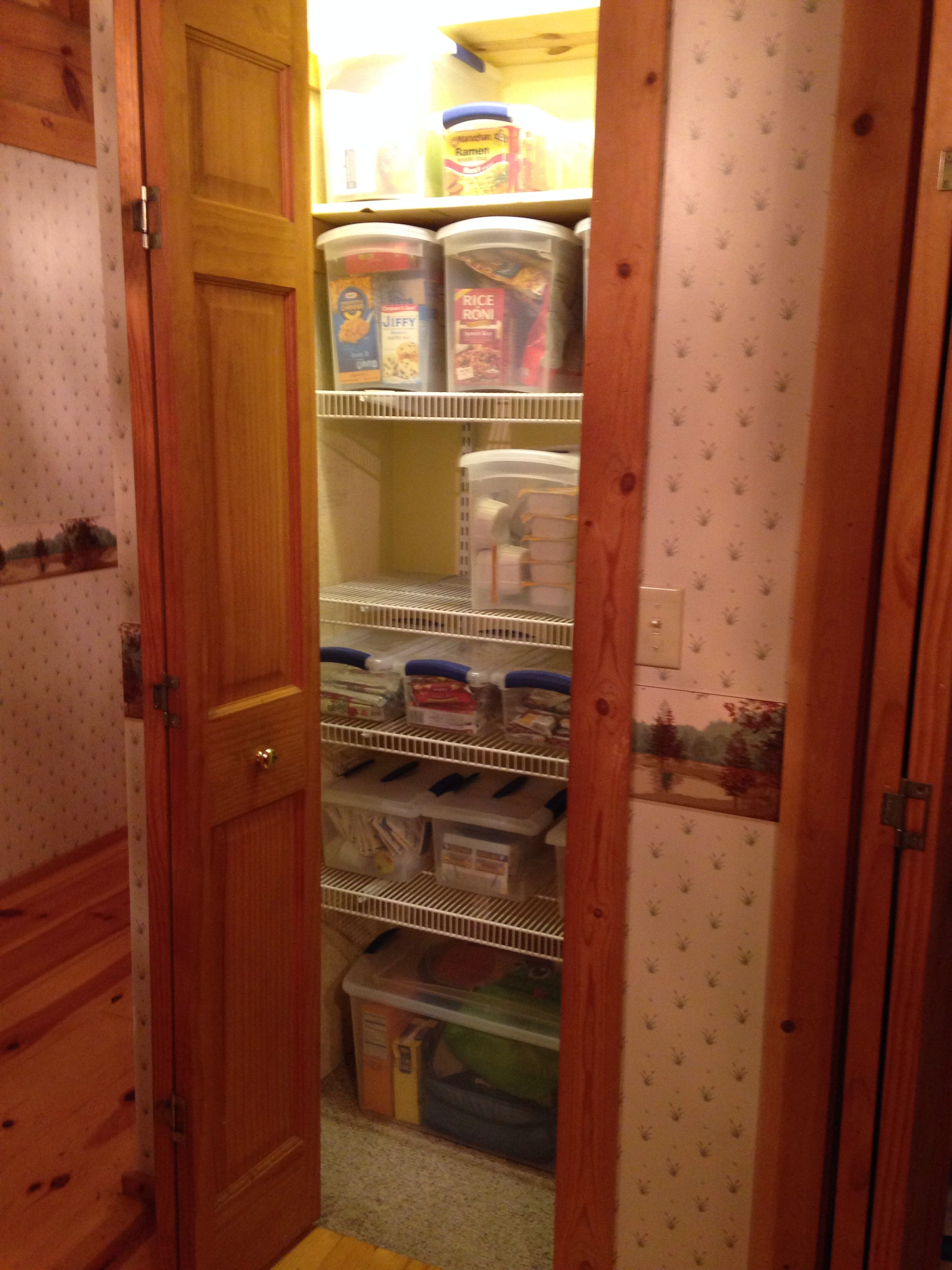 Organize Your Pantry And Mouse Proof At The Same Time