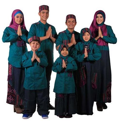 Baju muslim lebaran