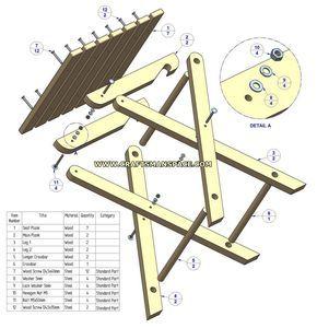 Gratis planos de mesa de picnic plegable madera for Planos de mesas de madera pdf
