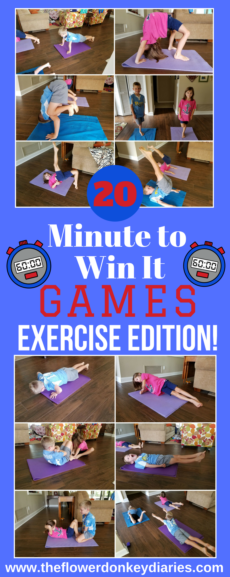 Minute to Win It: Exercise Edition -   24 fitness challenge for kids