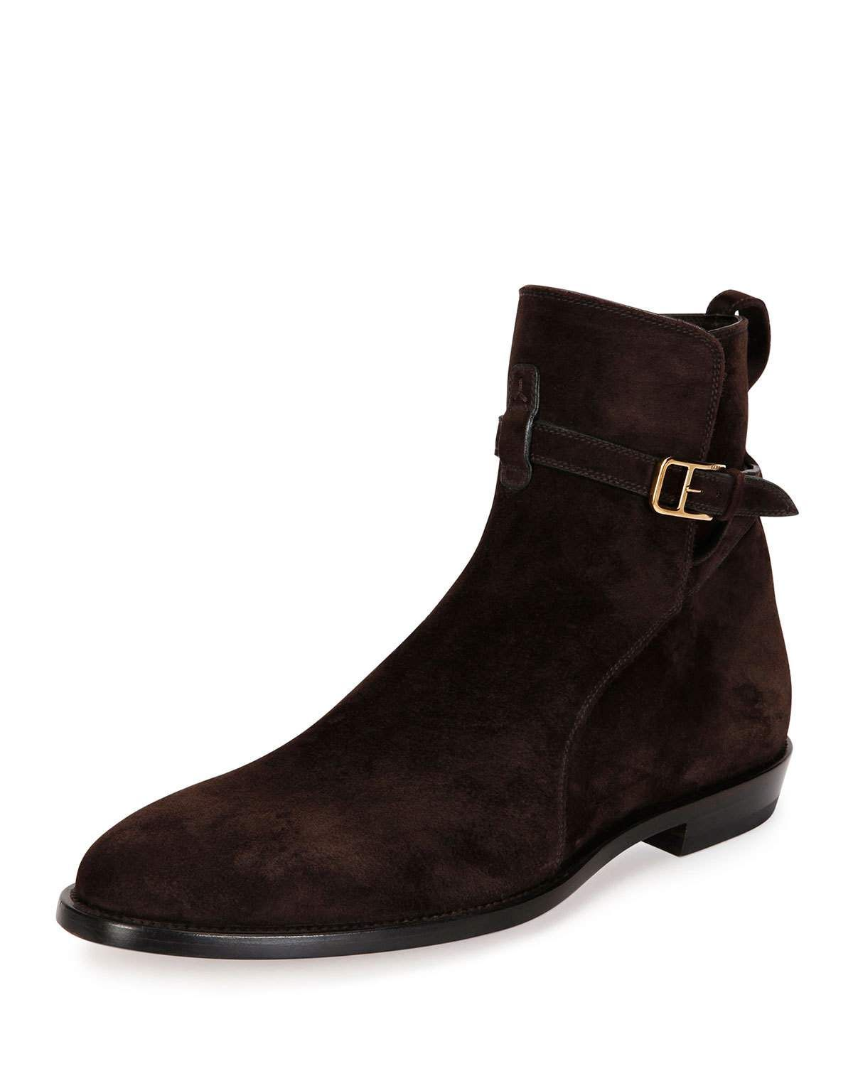 f500c4d8e4587 Bally Hobston Suede Jodhpur Ankle Boot, Brown | Shop gift ideas ...