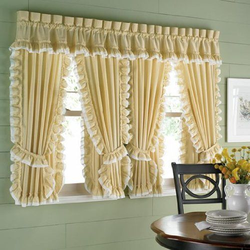 Jcp Home Collection: Jcp Home Tanya Cape Cod Rod-Pocket Window Tiers By JCP