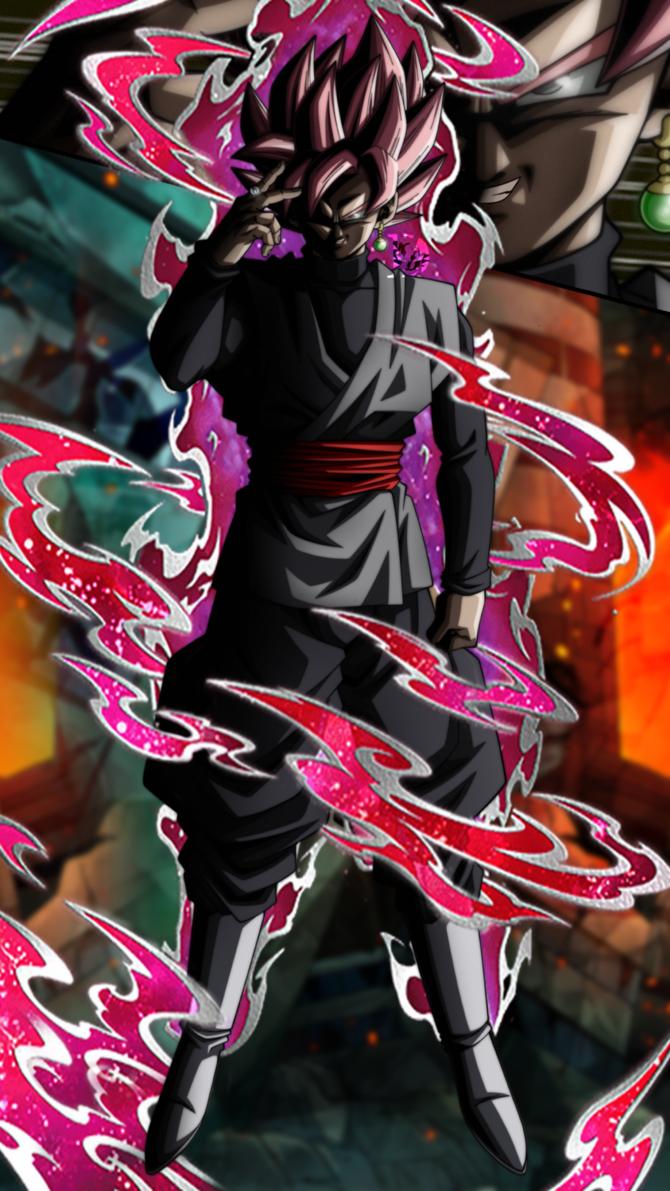 Super Saiyan Rose Goku Black Dokkan Lr Style 1 By Davidmaxsteinbach Goku Black Dragon Ball Super Manga Dragon Ball Super Goku