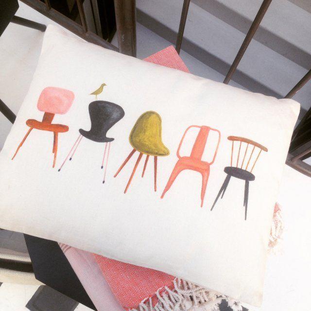 Les Nouvelles Collections Coussins Chaises Icones Monoprix Le Blog Deco De Mlc Deco Automne Meuble Conforama Deco