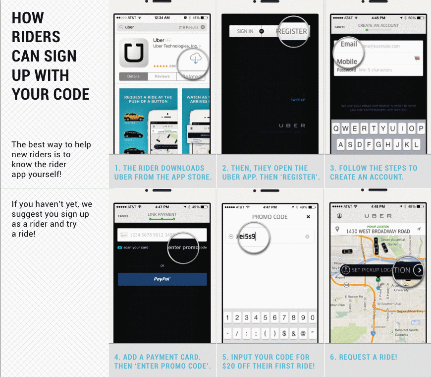 Can Uber Drivers Have Business Cards | RideShare Tips | Pinterest ...