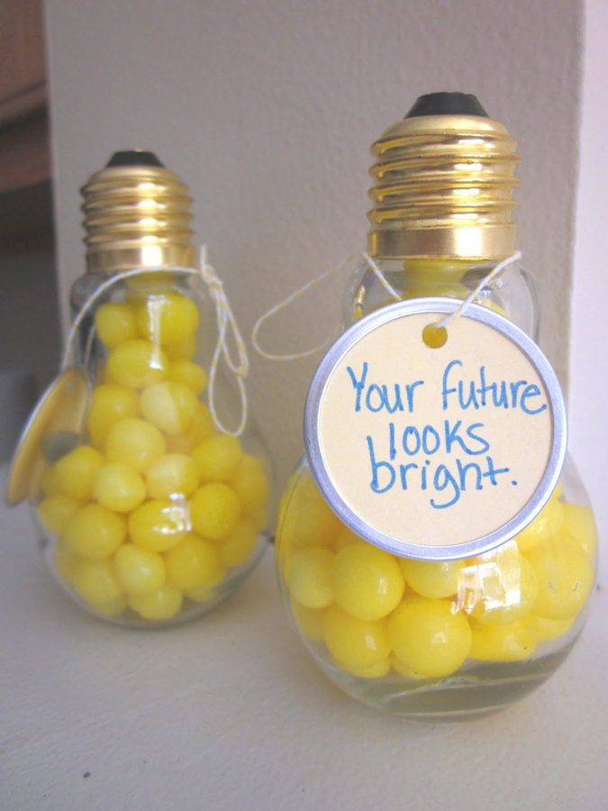 12 Bright Ideas For Light Bulb Jar Gifts Graduation Party Favors Graduation Diy Graduation Party Diy