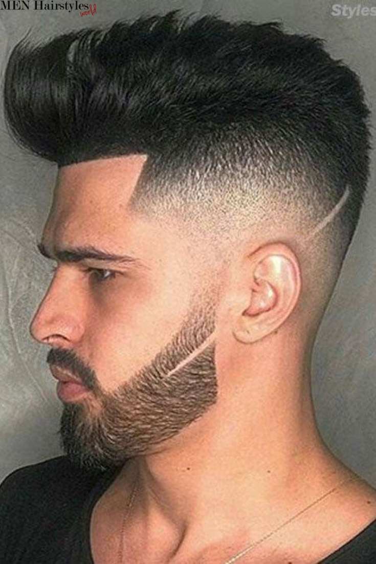 What Do All Brilliant Haircuts For Men Have In Common An Expertly Trimmed Contour And There S Mens Hairstyles Medium Medium Hair Styles Hair And Beard Styles