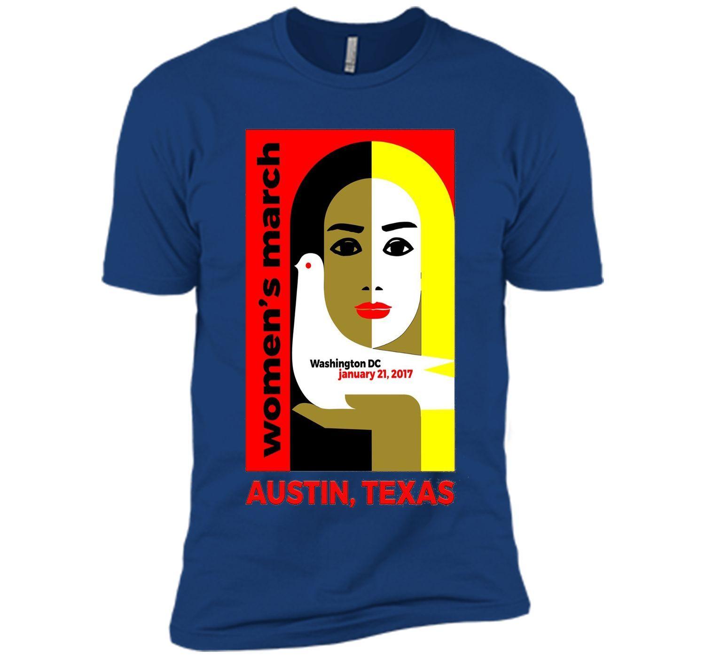 Women's March On Austin 2017- Million Women March T-Shirt