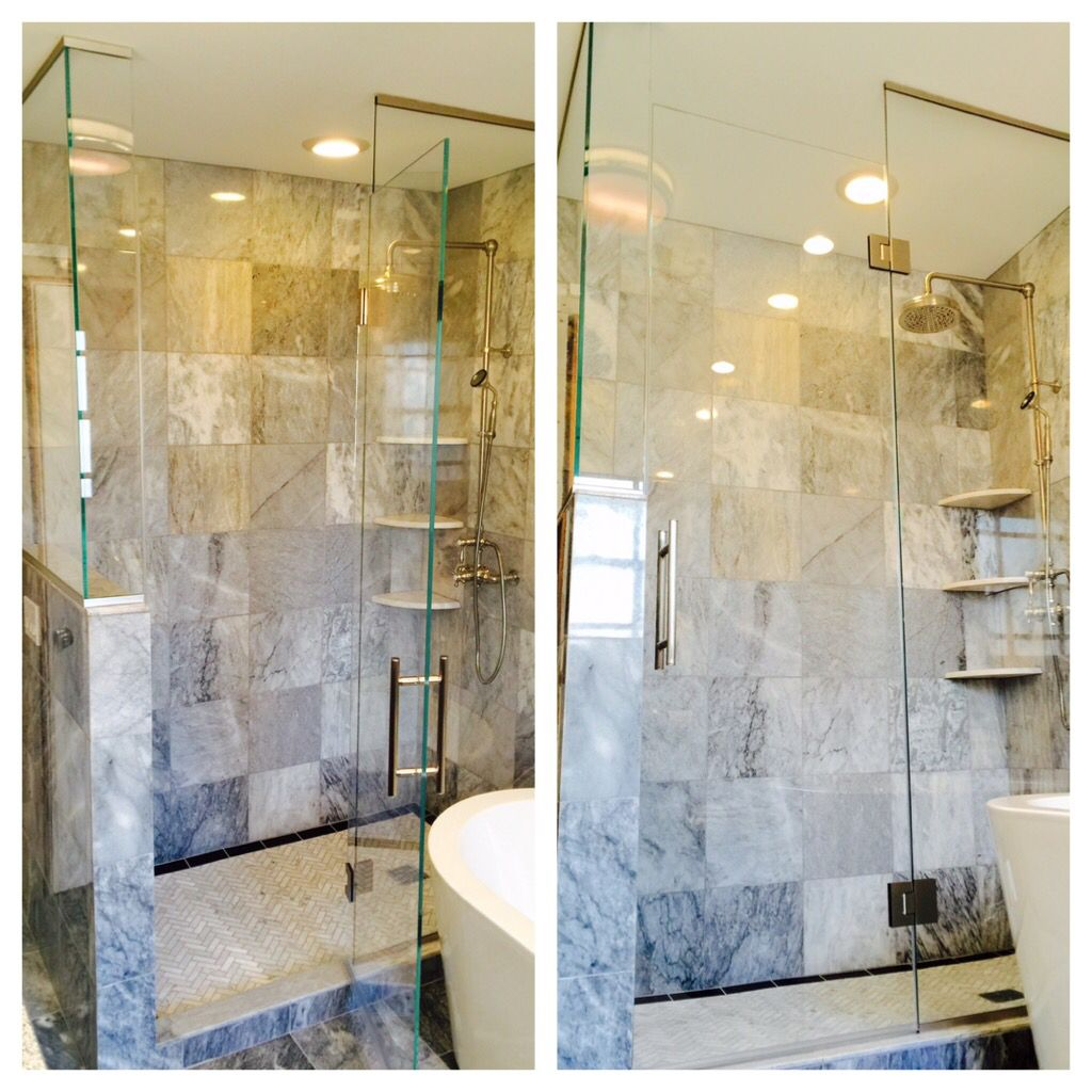 Beautiful Shower Enclosures In Chicago By Ultimate Glass Art Inc
