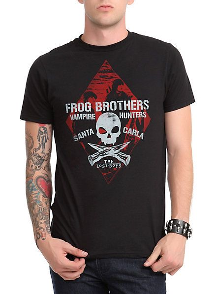 The Lost Boys Frog Brothers tee from Hot Topic