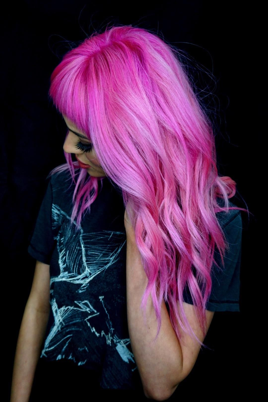 Contact to book appointment 0 Hair color pink, Pink hair