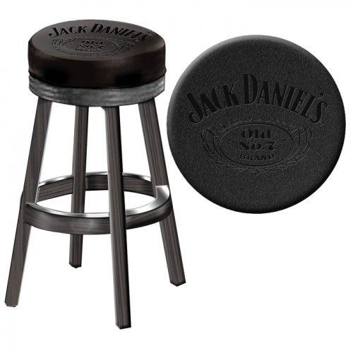 Jack Daniel S Bar Stool Swivel Bar Stools Bar Stools Wood Bar
