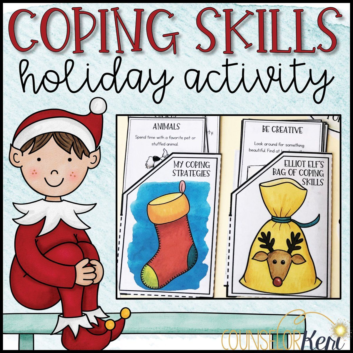 Holiday Coping Skills Activity Coping Skills Craft For