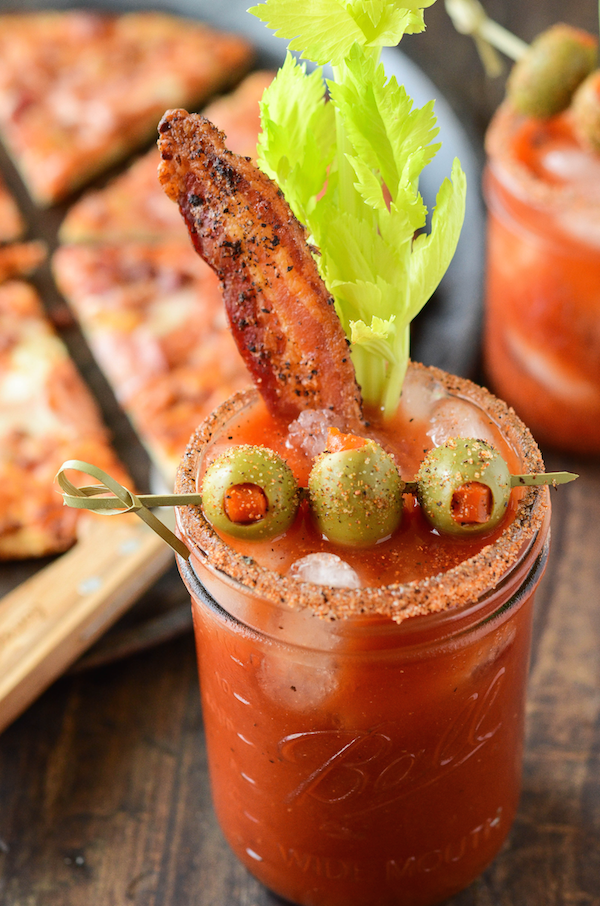 Recipe Loaded Bloody Mary Food